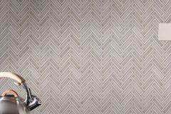 Herringbone Pattern - Dove Grey