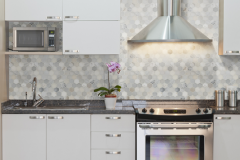 Hexagon Pattern - Arabescato Carrara 2 Inch